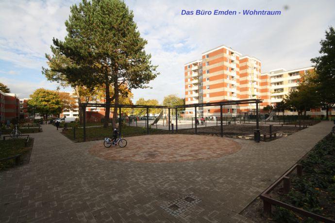 Sehr gepflegte 3,5 Zimmer Wohnung in Emden zu vermieten