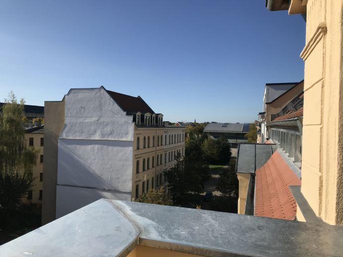 Moderne trifft Geschichte Traumhafte Maisonettewohnung Citylage in Leipzig