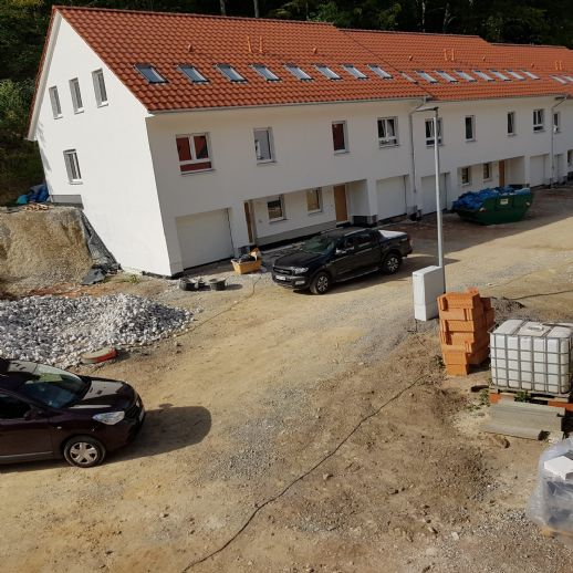 Reihenhaus zentrumsnah mit Garage und Garten