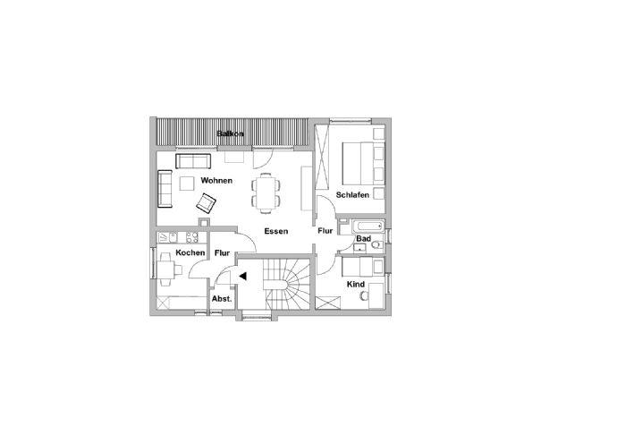 Sanierte 3-Zimmerwohnung in Kürnach