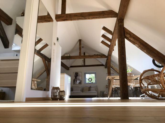exklusives Traum-Loft in der Alten Schlosserei mit gehobener Einbauküche im Herzen der Stadt