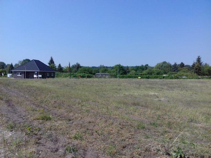 Baugrundstück (21) Nahe der Müritz-Elde-Wasserstraße in Grabow (Meckl.)