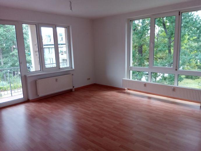 3-Raum-Wohnung im  DG mit Balkon und EBK