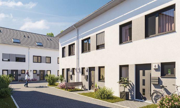 Neubauprojekt: Reihenendhaus mit Terrasse und eigenem Garten