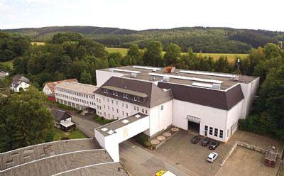 Hilchenbach Halle, Hilchenbach Hallenfläche