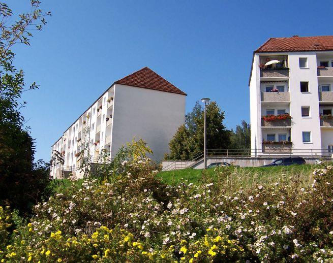 Schöne und günstige 3-Zimmerwohnung auf dem Balkon von Sebnitz