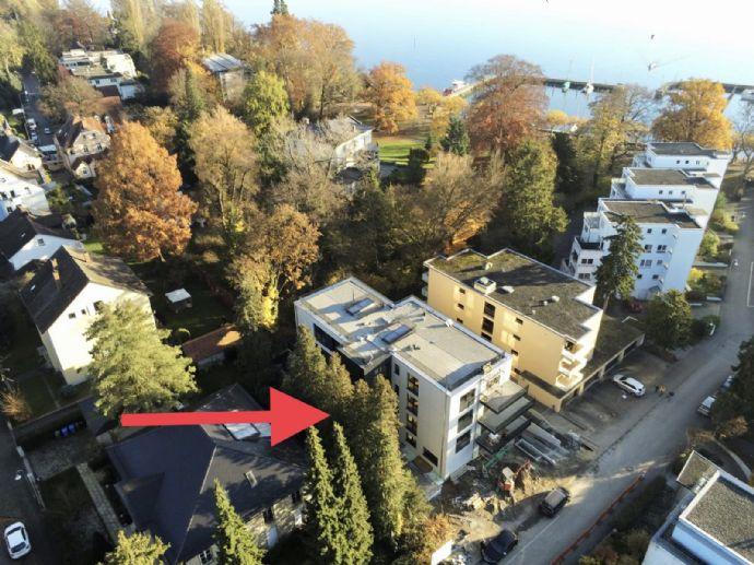 Erstbezug im Neubau in traumhafter ruhiger Seelage Petershausen-Ost