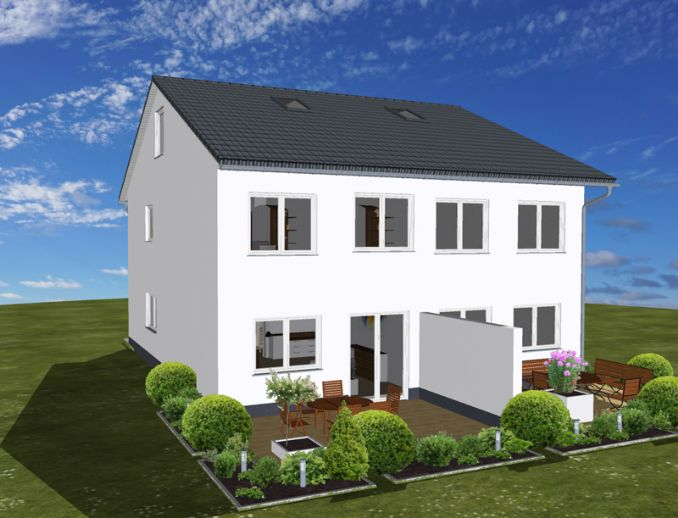 DHH - Grundstück - BauNK
