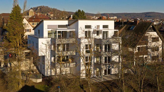 Sie suchen eine helle, moderne, barrierefreie 4-Zimmerwohnung mit Süd-Balkon… in Herrenberg -Stadt...