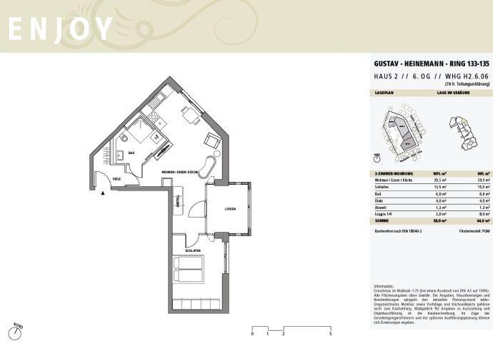 Attraktive 2-Zi.-Wohnung mit Loggia - Schnäppchenjäger/Kapitalanleger aufgepasst: Preisgedämpfte Mietwohnungen â Miete bis zu 13,90 / m²