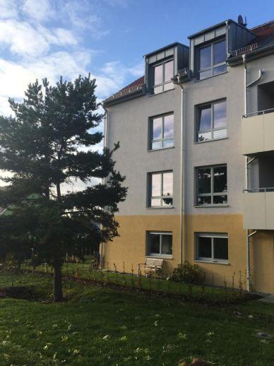 2-Raum-Wohnung mit Garten