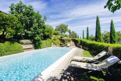 Frei - Villa Cittina with Pool on Tuscan Hills  - Last Minute