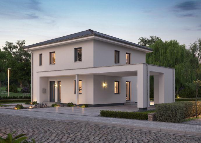 Stilvolles und modernes Wohnen - Bauen Sie Ihre Stadtvilla mit massa haus