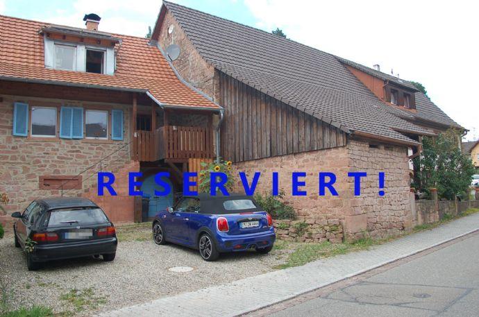 Schönes Bauernhaus mit ausgebauter Scheune und Gewölbekeller in Teningen-Heimbach