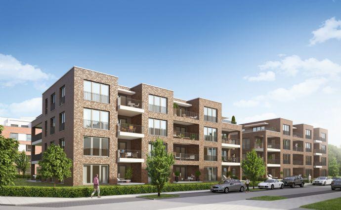 Erstbezug - Seelhorster Garten! 2-Zimmer-Neubau-Wohnung mit Terrasse