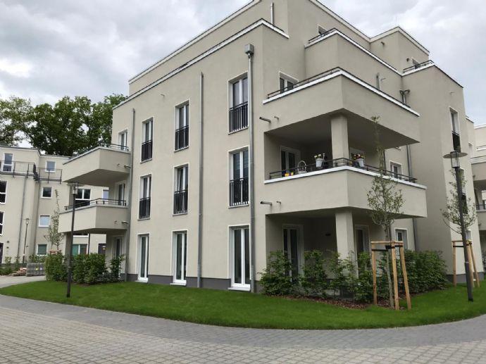 Wohnen am Schlossgarten 2 Raumwohnung nahe Stadtzentrum von Neuruppin mit 2 Balkonen