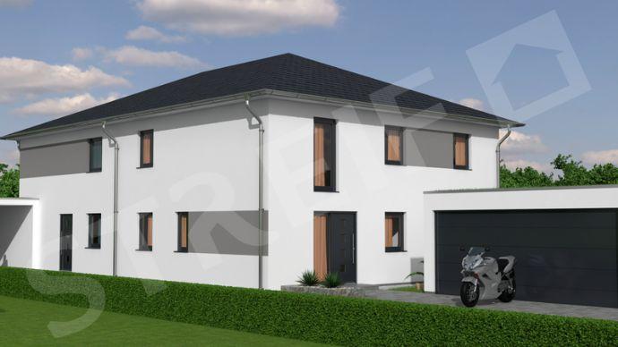 Wir bauen unser Haus. Doppelhaushälfte mit Grundstück im Ortsteil Freihalden