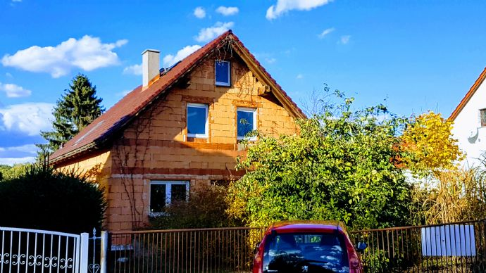 Haus zum fertig Bauen in ruhiger Lage in Neupetershain