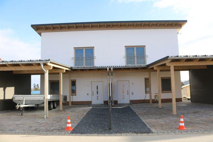 Neubau Doppelhaushälfte mit Carport und Garage schlüsselfertig