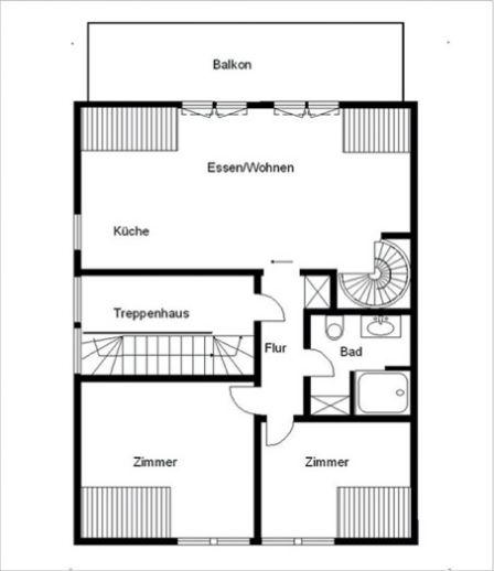 Luxuriöse 4-Zi-Maisonette-Wohnung mit Studio, Einbauküche, Stellplatz und Garage!