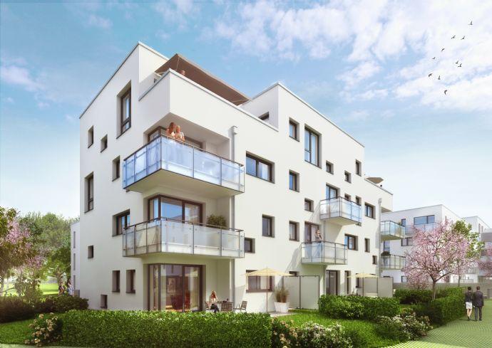 183 qm Privatgarten. Kaum Nebenkosten. Durchdachter Grundriss. Großzügige, extrahohe Räume.