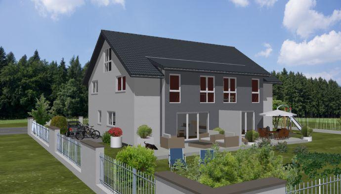 Neubau eines Doppelhauses in ruhiger Top-Wohnlage in Stein-Deutenbach mit Festpreisgarantie, individuelle Planung möglich
