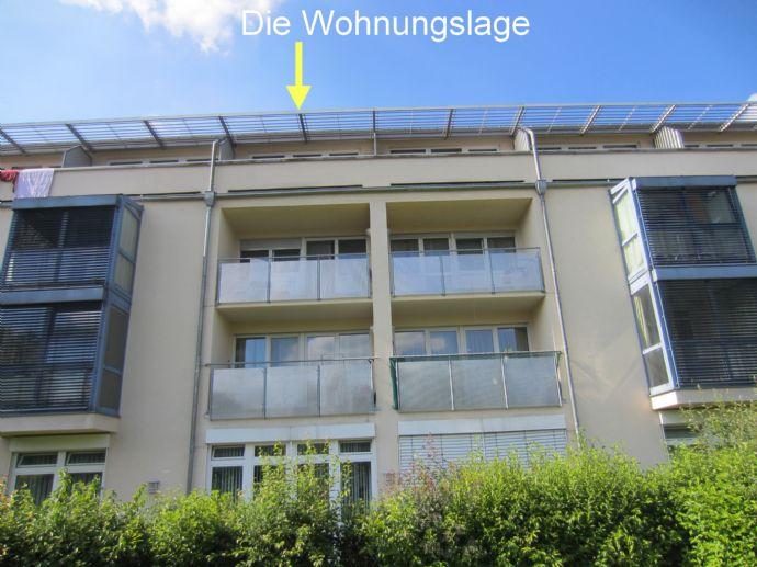 Traumhafte 2-Zimmer-Wohnung mit Dachterrasse und Balkon in Dingolfing zu vermieten! (WE 44 / TG 168)