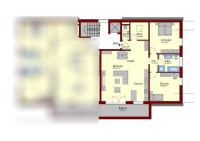 Petersberg Wohnungen, Petersberg Wohnung mieten
