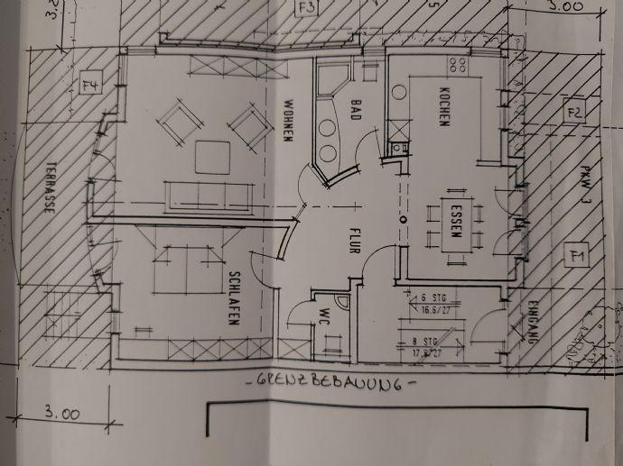 3 Zimmer-Wohnung in Bensheim-Ortsteil zu vermieten