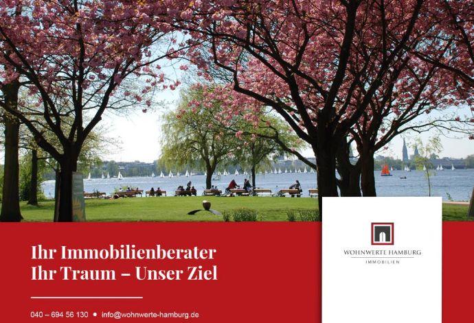 WOHNWERTE HAMBURG - Exklusives Stadthaus in unmittelbarer Alsternähe!