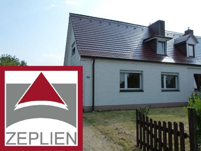 Doppelhaushälfte auf großem Grundstück im Ostseebad Rerik