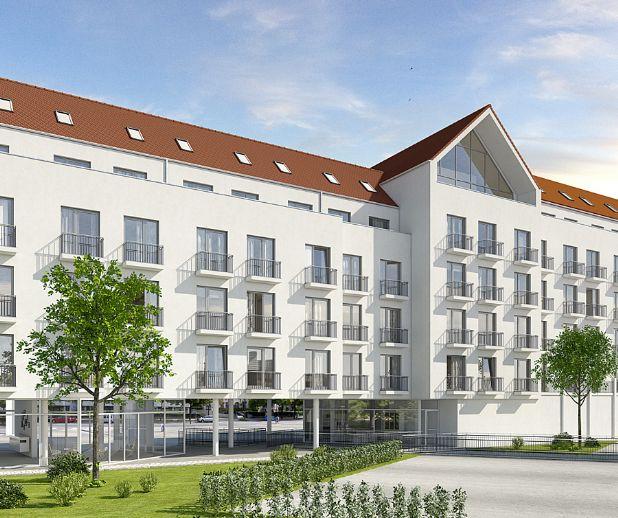 Neubau Studentenappartement in der Augsburger City