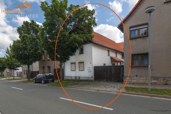 Wohngebäude mit Lebensspuren | Scheune | Garten | Innenhof | Abgeschlossenes Grundstück | Geeignet für Pendler!