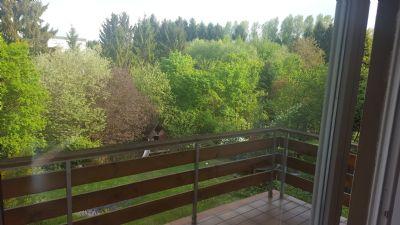 Balkon - Blick richtung Garten