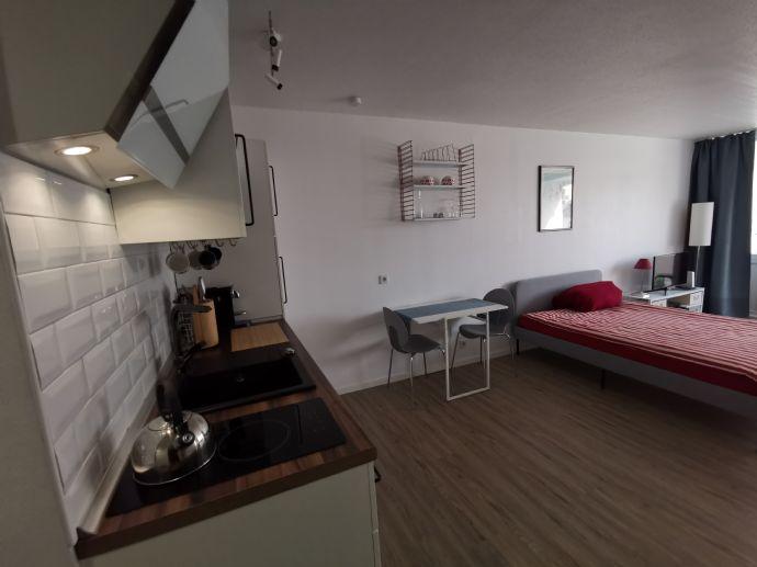 Schöne 1-Zimmer-Wohnung mit Balkon zentral im Sachsenhausen