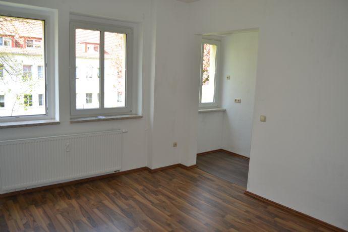 Praktische 2-Zimmer-Wohnung in Kaulsdorf (EG)