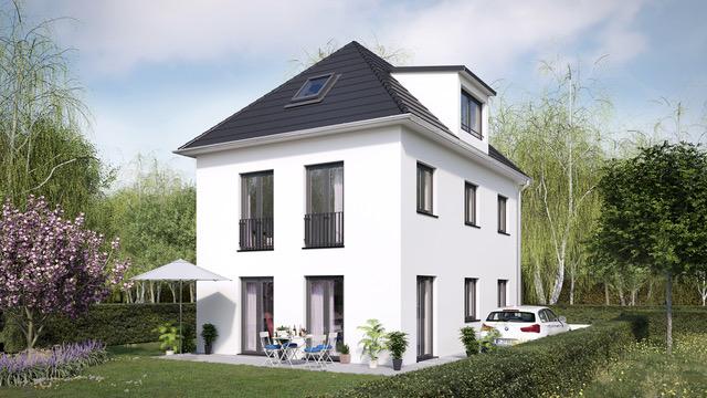 Grundstück mit Baugenehmigung für EFM