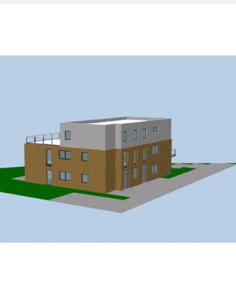 V. PRIVAT Neubau-2 Zimmer-Wohnung Erdgeschoss