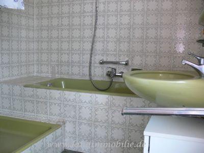 Das Badezimmer im OG