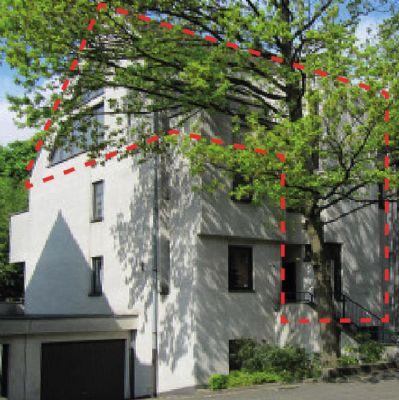 Maisonettewohnung mit Fensterfront u. Terrasse