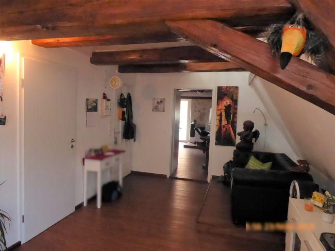 Dachgeschoss-Loft mit Balkon in Hohenstadt/Nürnberger Land