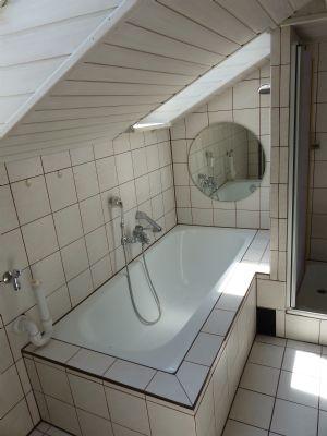 Teilansicht Badewanne DG