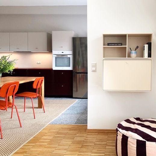 Wunderschöne 136 m² Maisonette-Wohnung möbliert
