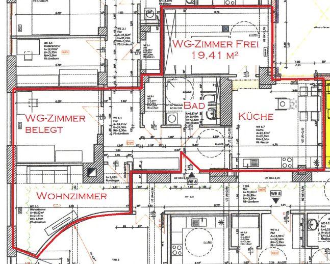WG-Platz barrierefrei und rollstuhlgerecht ab sofort zu vermieten