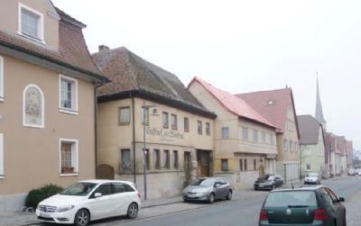 Historischer Blickfang im Ortskernensemble