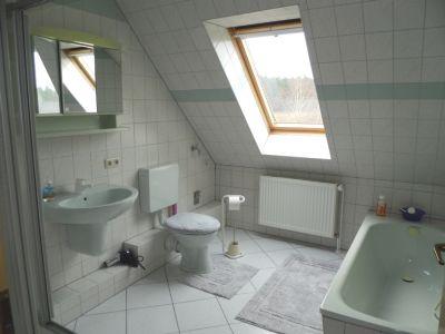 Bad im Dachgeschoß