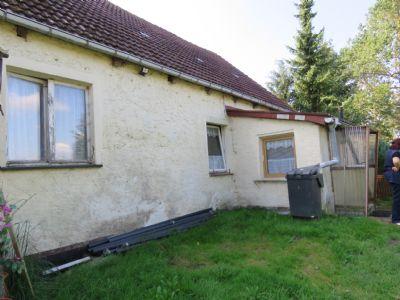 Haus Eingang rechte Seite