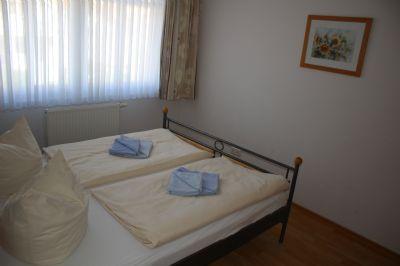 Schlafzimmer einer 3-Raumwohnung