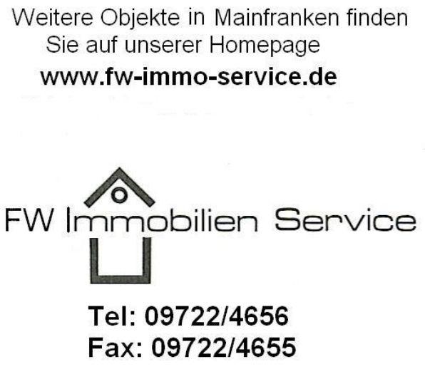 Attraktives Grundstück für Gewerbenutzung in Grettstadt (Befreiung vom Bebauungsplan nach Bauvoranfrage eventuell möglich für andere Nutzung)