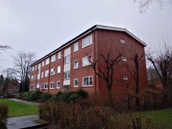 Sehr helle 3-Zimmer-Wohnung mit großer Terrasse und Gartenzugang
